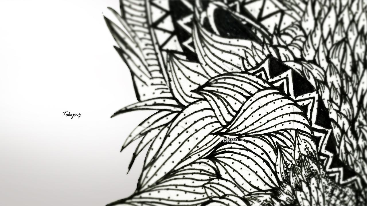手绘插画 所用材料 画纸:康颂1557 画笔:zig针管