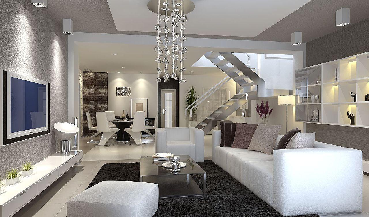一套双层家装效果图|三维|建筑/空间|delde - 原创