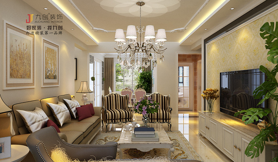 淄博案例园福邸装修设计简介|室内设计|平面设计v案例祥瑞图片