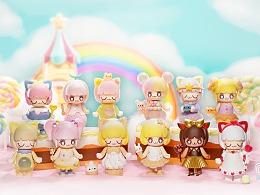 52TOYS甜品派对梦幻开场啦!KIMMY&MIKI甜蜜来袭!