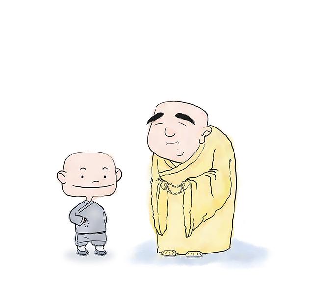 佛学漫画图片
