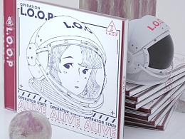 《L.O.O.P循环行动》专辑包装设计