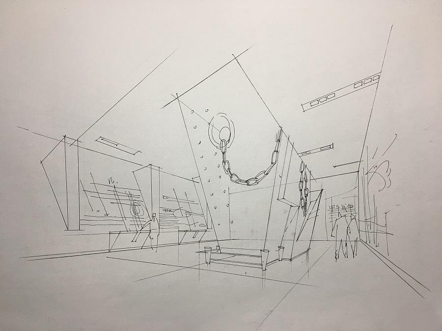 室内手绘临摹练习|室内设计|空间|靇羏syy - 原创设计