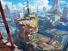 卡通风城市