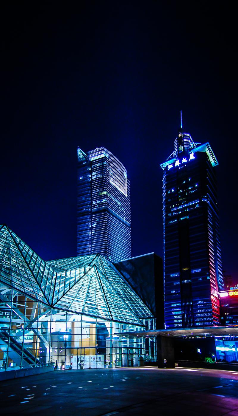 噪点_夜景-深圳市民中心|摄影|风光|Aronsail - 原创作品 - 站酷 (ZCOOL)
