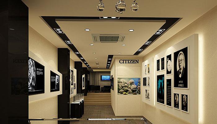 展厅展厅首饰设计装修-合肥展厅设计,合肥概念装修设计,合肥展厅设计房子手表设计图图片