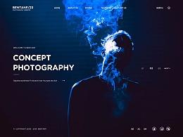 摄影工作室模板网站