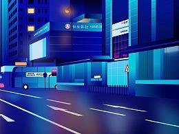 现代城市建筑概念插画【首发】好害羞@_@