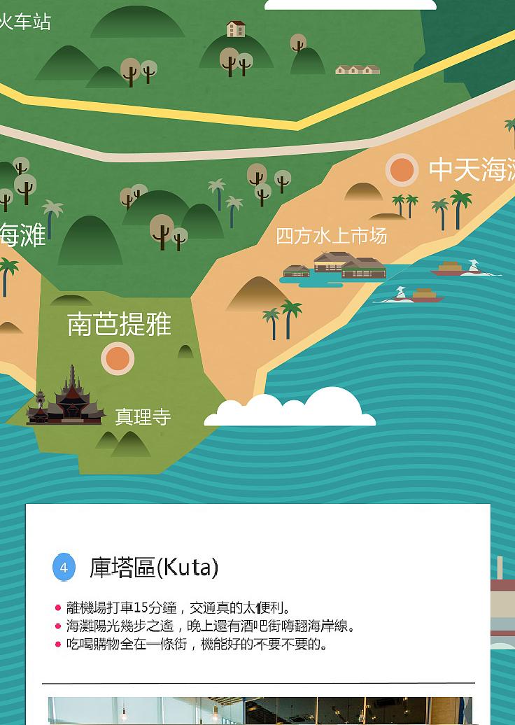 途家-手绘地图设计