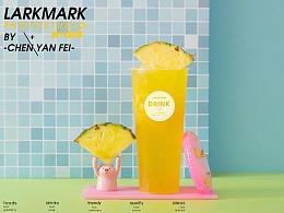 我在泳池摇啊摇…上海 奶茶 饮品 饮料广告摄影