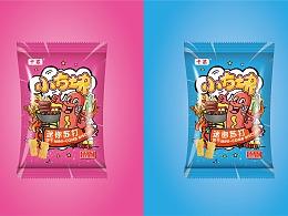 巨灵设计:网红零食包装