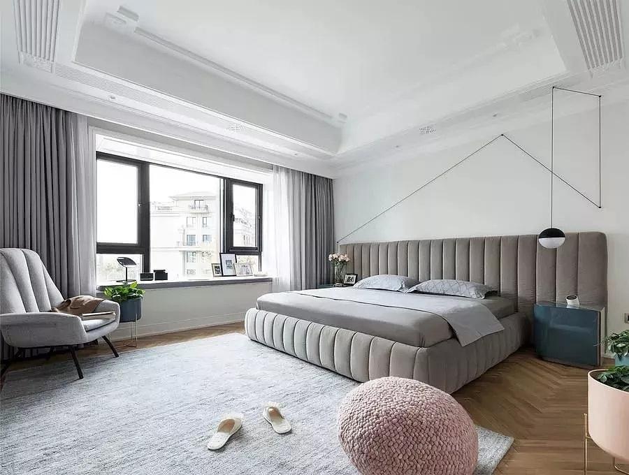 金领九如意220平大平层现代北欧风格装修效果图欣赏图片