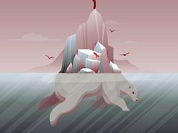 挽救北极熊 拯救人类自己