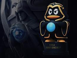 英雄联盟S7企鹅召唤师公仔设计