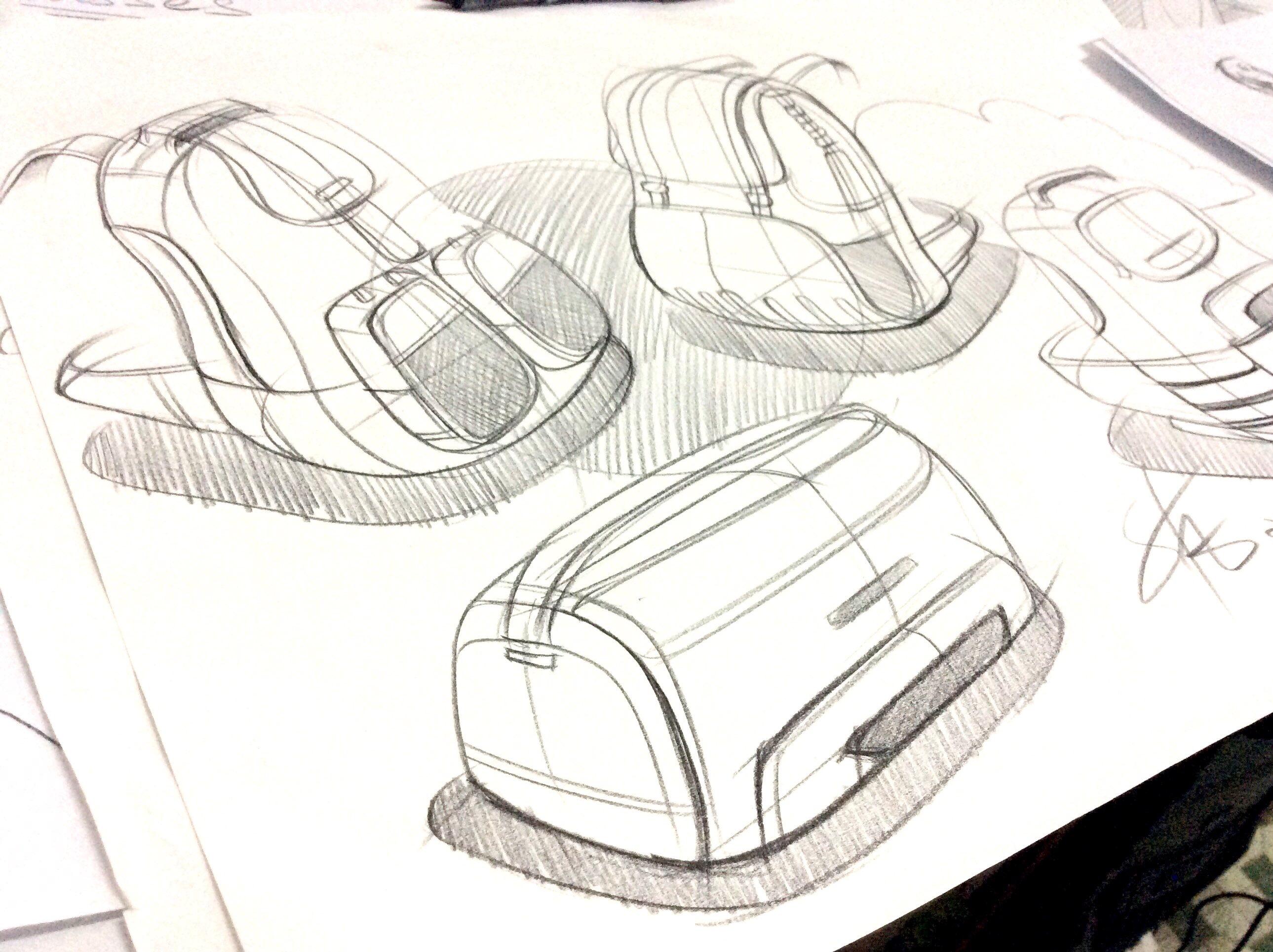 工业设计手绘-每日一画图片