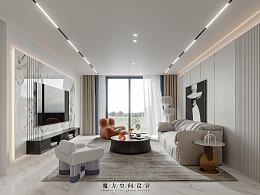 【魔方】简约现代•上海别墅项目