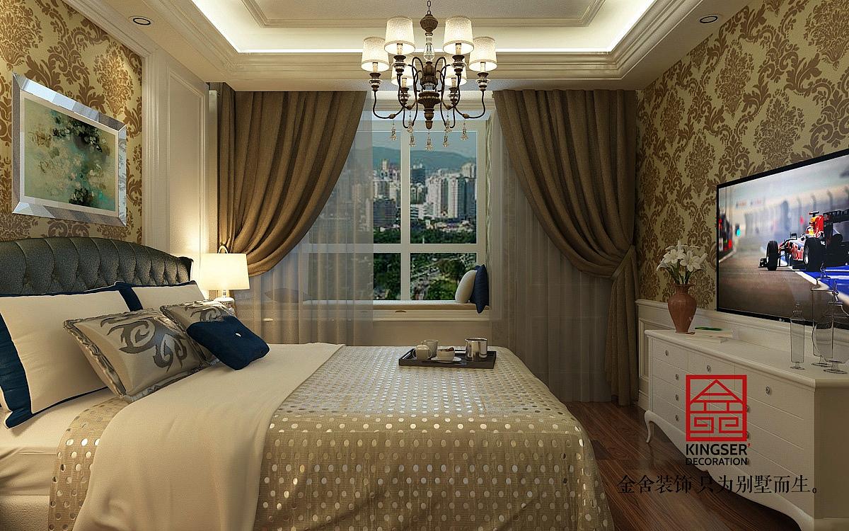 墙纸:可以选择一些比较有特色的墙纸装饰房间简欧的装修要求只要有图片
