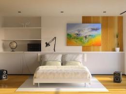 Redshift for c4d 室内动画渲染—简单调整的材质灯光