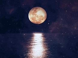 海上生明月,中秋节快乐