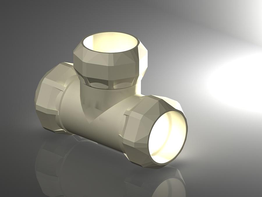 查看《南新管业钻石系列水管件开发设计 (诸暨工业设计产品开发)》原图,原图尺寸:1600x1200