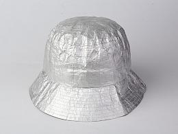 纸竹常乐防水撕不烂帽子(银色款)