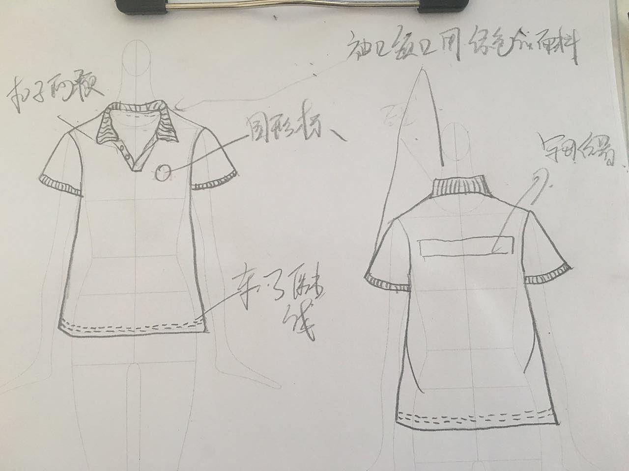 青少年服装效果图手绘