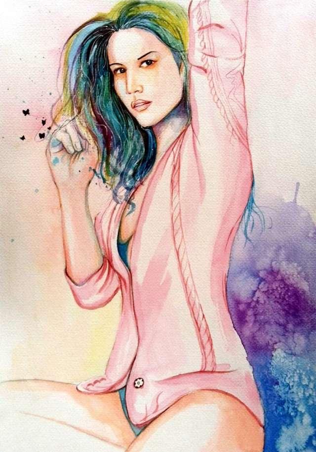 龙葵漫画手绘图