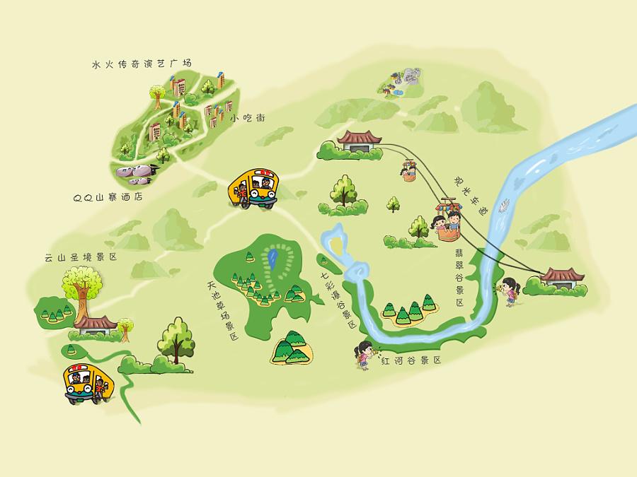 原创作品:2014手绘地图