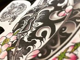 情侣纹身手稿