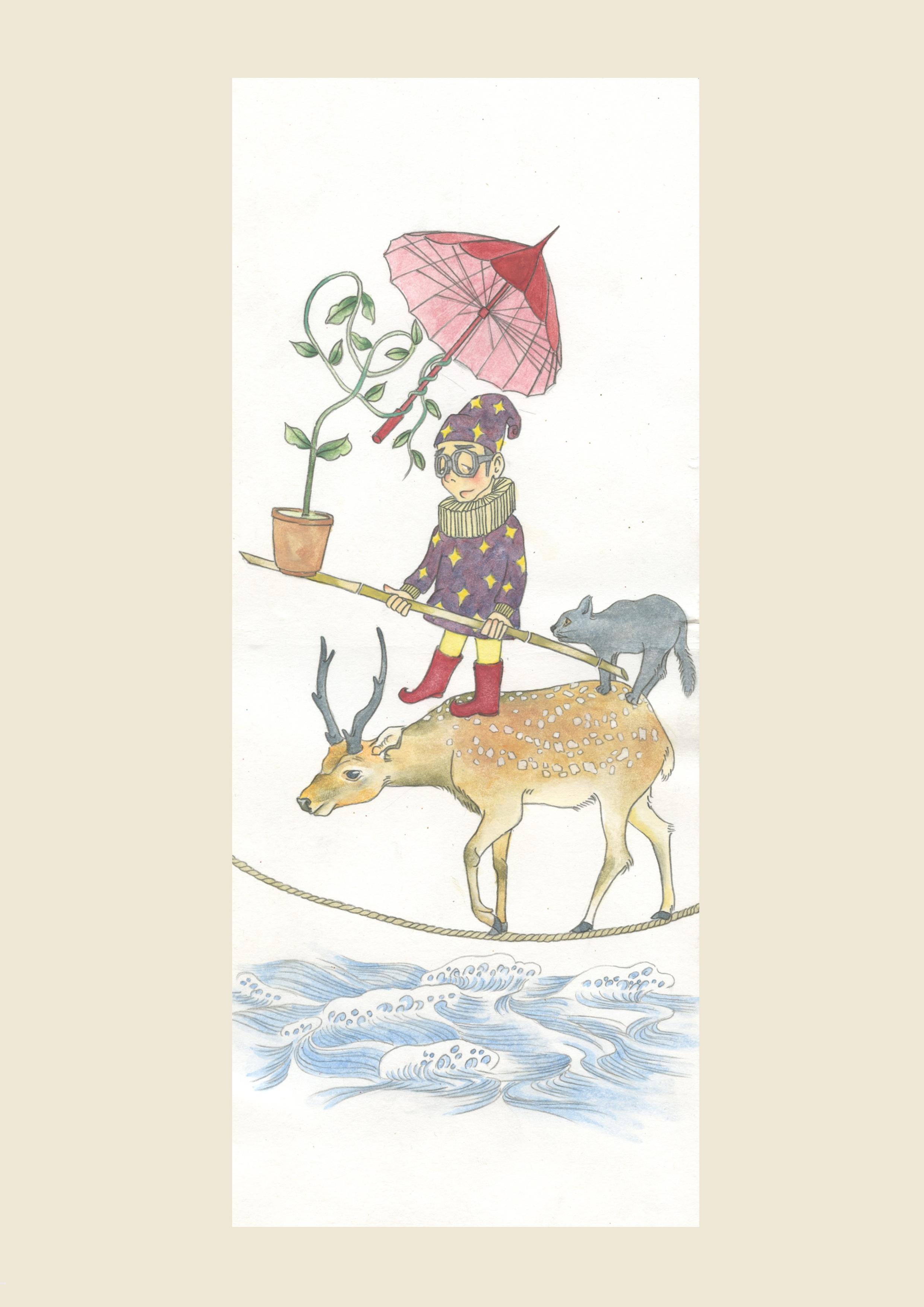 《臆的明信片》手绘图像日记