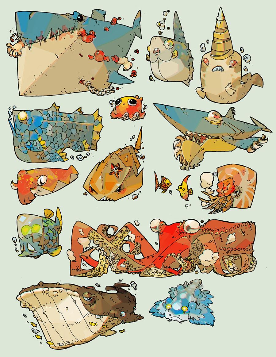 不太通俗的海洋动物