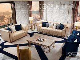 维多利亚轻奢家具-塞瓦那莉(沙发/床/桌子/柜子)