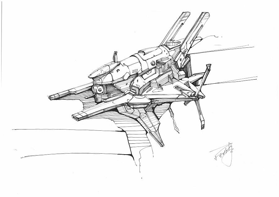 针管笔手绘|绘画习作|插画|ice