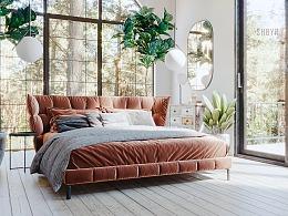 一套卧室渲染