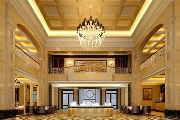 欧式风格私人会所空间设计-中骏设计|室内设计|空间