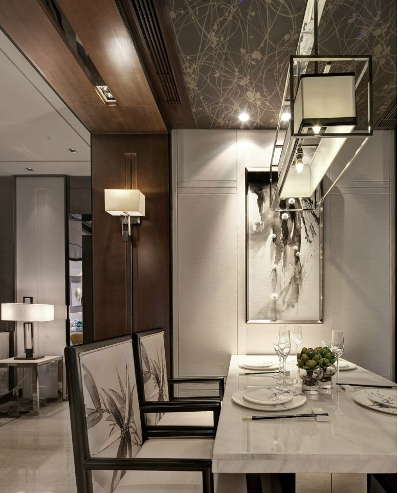 新中式|空间|室内设计|元度家居汇装饰 - 原创作品图片