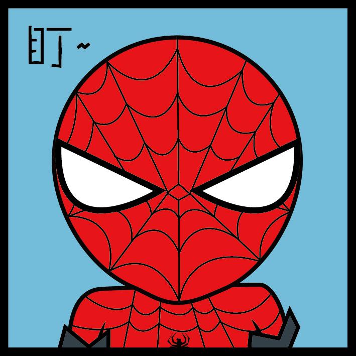 蜘蛛侠表情包图片