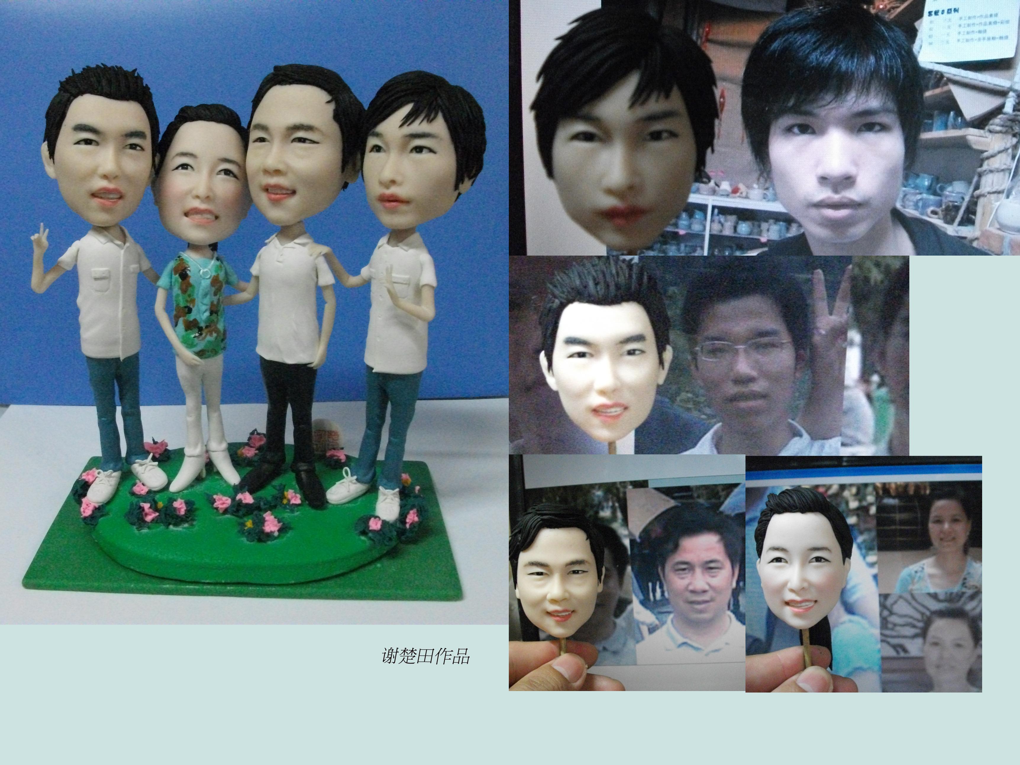 http://www.chutiangift.com/uploads/140618/5-14061Q1531B50.jpg_肖像,泥塑,q版人像|其他|其他|xiechutian - 原创作品