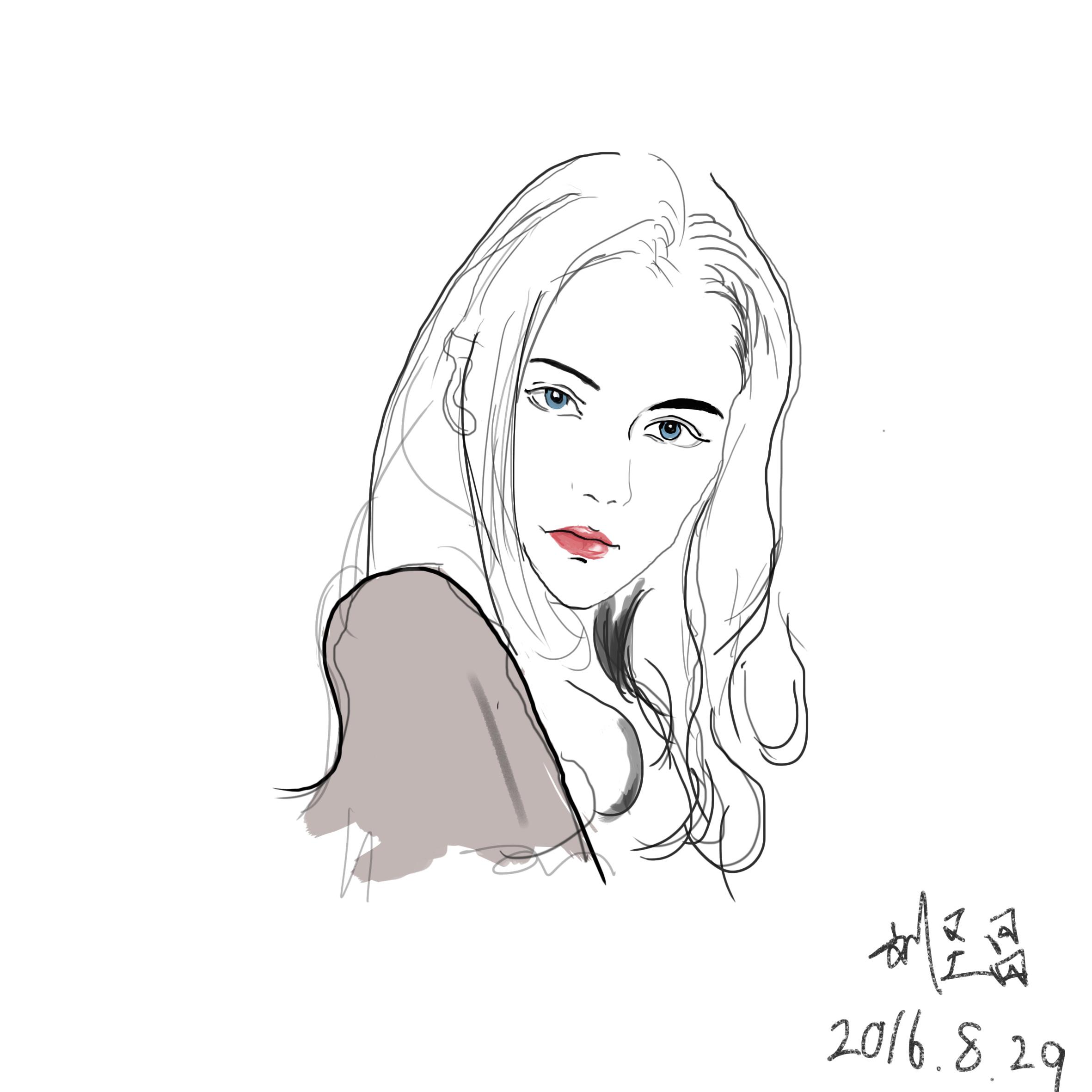 动漫 简笔画 卡通 漫画 手绘 头像 线稿 2362_2362