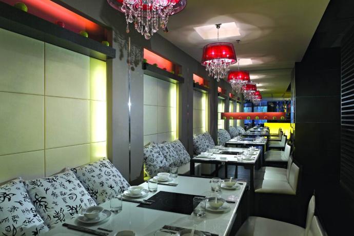 金堂火鍋店裝修設計公司—干鍋軒餐廳|建筑設計|空間