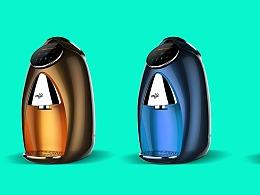 小型、智能的咖啡机设计更受人们欢迎