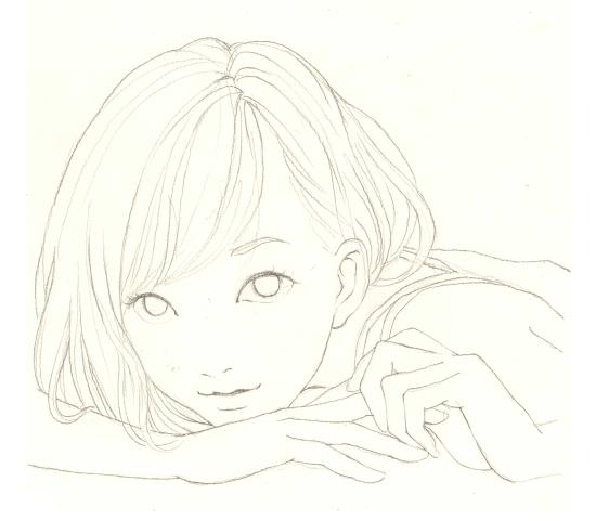 简人物女孩图片背影笔画_简背影后背笔画发型杨紫志女孩青云人物图图片