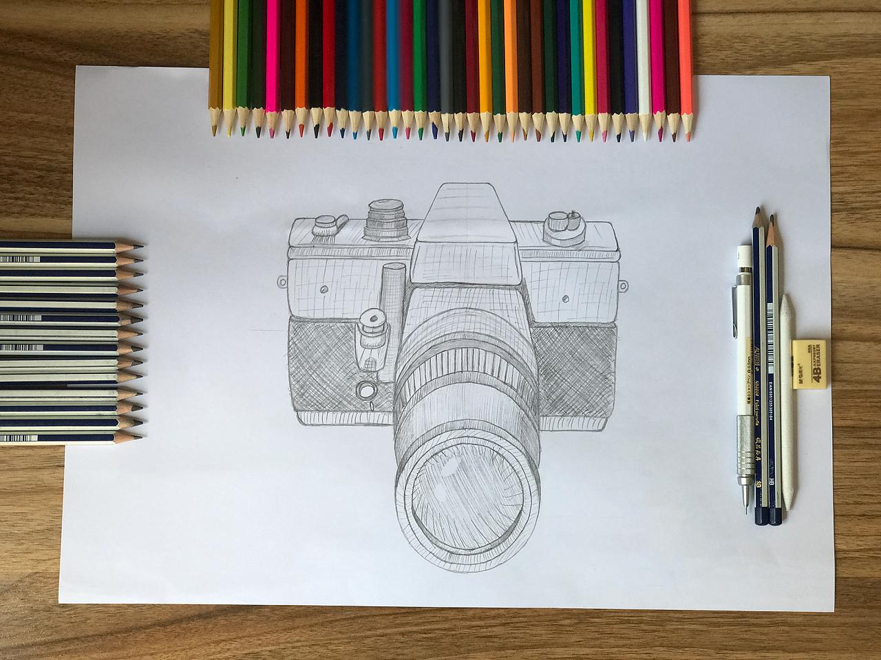 手绘相机|ui|其他ui |小土豆姑娘 - 原创作品 - 站酷
