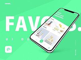 Favors_App UI Design.