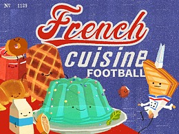 French Cuisine Football // COMOON