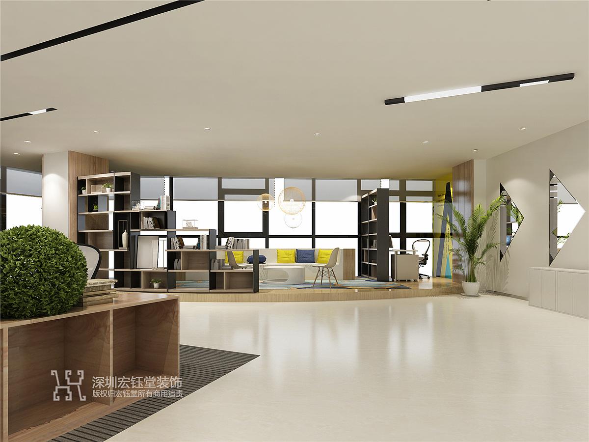 郑州房地产公司办公室装修设计图 郑州办公室装修公司