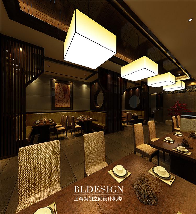 郑州郑州案例家门设计特色--河南进餐厅原木设计说明图片