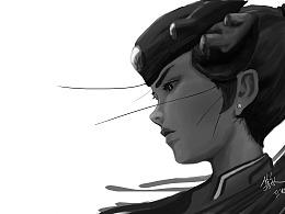 守望先锋-黑百合