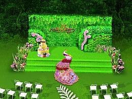 草坪婚礼场景 氛围设计 |锐拓客设计|