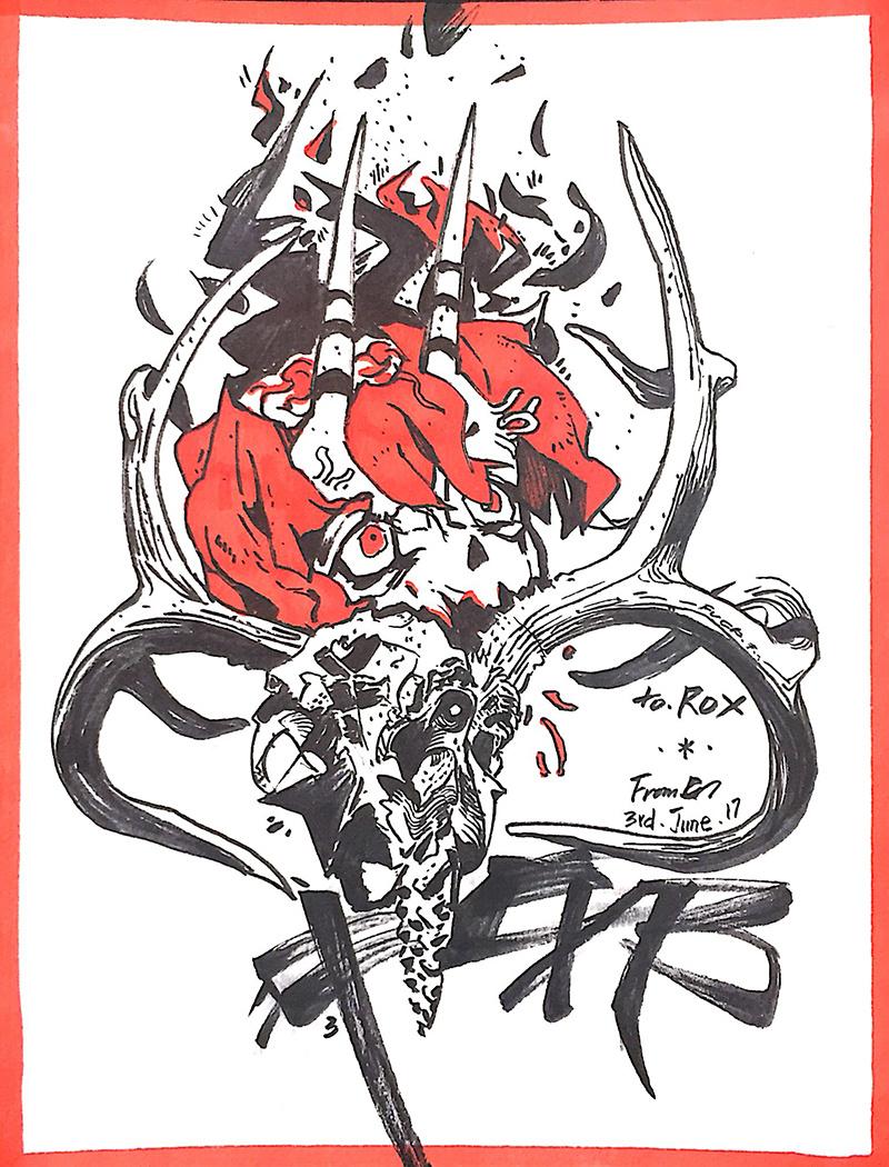 6月手绘涂鸦